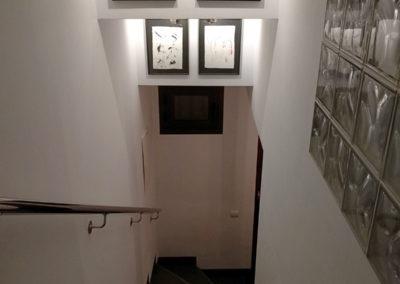 En baixar les escales